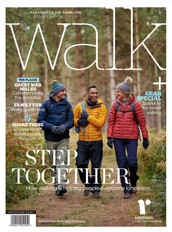 Ramblers Walk magazine cover