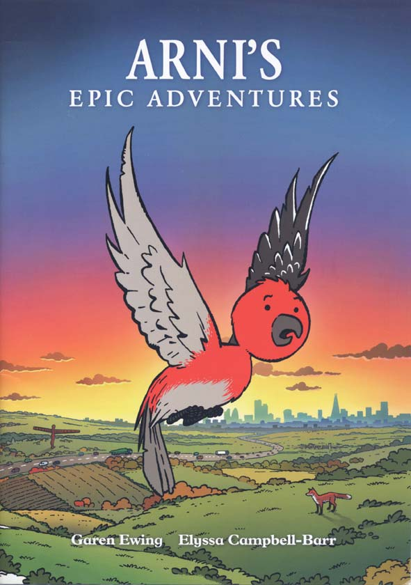 Arni's Epic Adventures story book cover